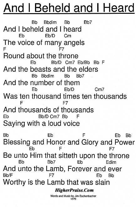 words lyrics chords