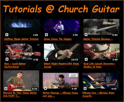 Guitar Tutorials For Playing Christian Songs