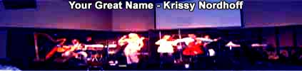 Click For Your Great Name - New Krissy Nordhoff Worship Song
