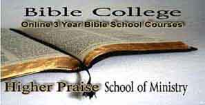 Click For Free Online Bible School Course
