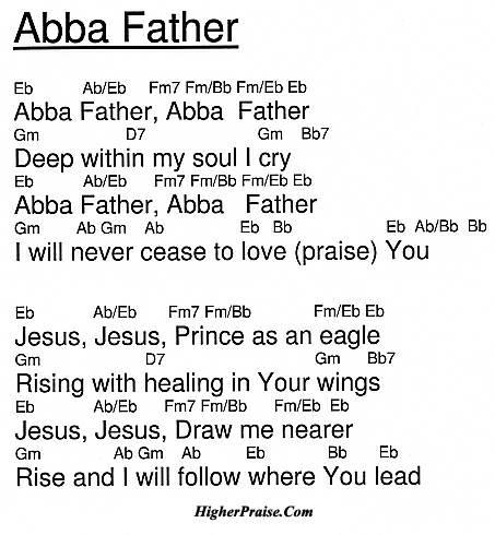 Abba Father Guitar Chordsml In Hysicidthub Source Code