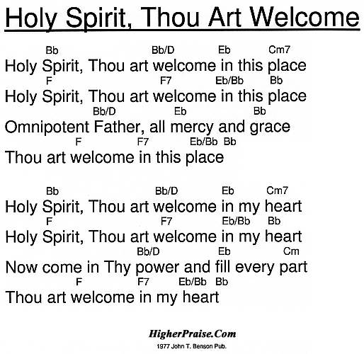 Holy Spirit You Are Welcome Here Chords Images Chord Guitar Finger