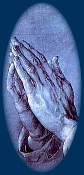 Click Praying Hands To Email Your Prayer Request